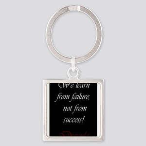 We Learn From Failure Keychains