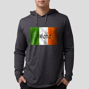 Drunk Irish Flag Mens Hooded Shirt