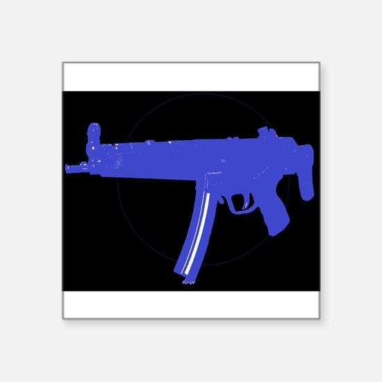 H&K MP5 Dark for black shirts and items Sticker
