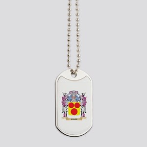 Gavin Coat of Arms (Family Crest) Dog Tags
