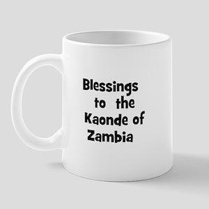 Blessings  to  the  Kaonde of Mug