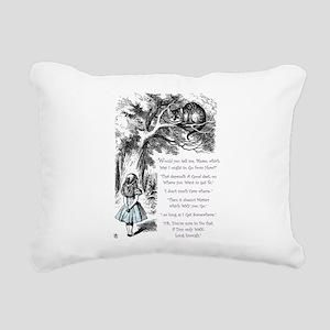 Where Do You Want To Go? Rectangular Canvas Pillow