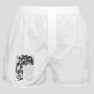 Where Do You Want To Go? Boxer Shorts