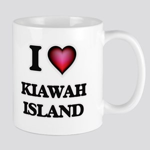 I love Kiawah Island South Carolina Mugs