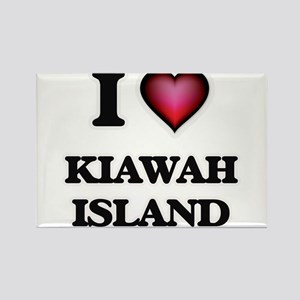 I love Kiawah Island South Carolina Magnets