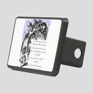 Were All Mad Here! Rectangular Hitch Cover