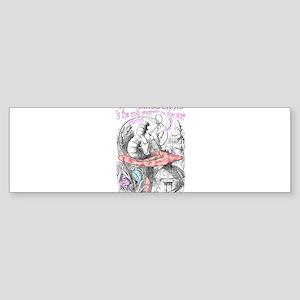 Imagination Reality Bumper Sticker