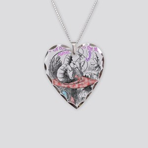 Imagination Reality Necklace Heart Charm