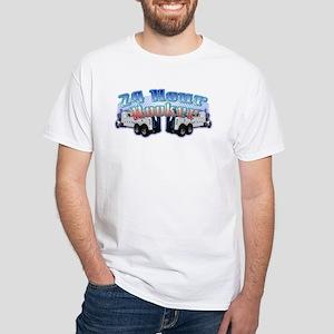 24 Hour Heavy Duty White T-Shirt