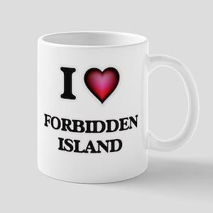 I love Forbidden Island Northern Mariana Isla Mugs