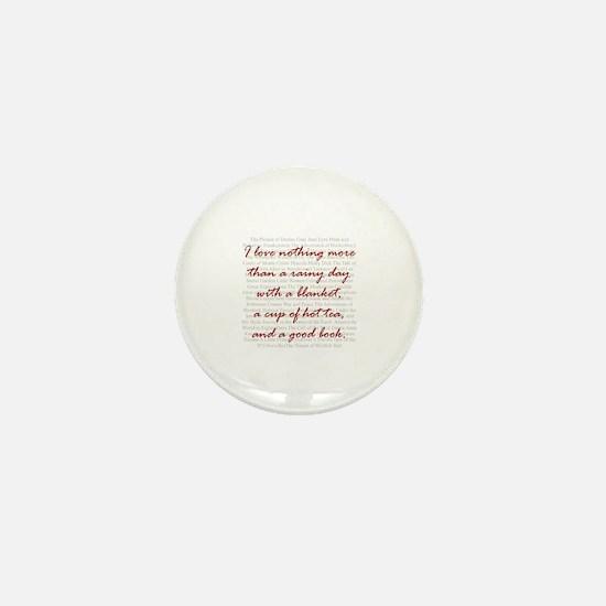Unique Tea cup Mini Button