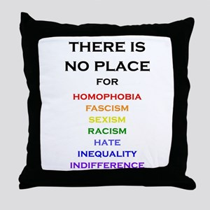 There is no Place Throw Pillow