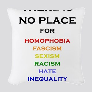 There is no Place Woven Throw Pillow