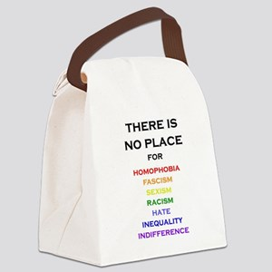 There is no Place Canvas Lunch Bag