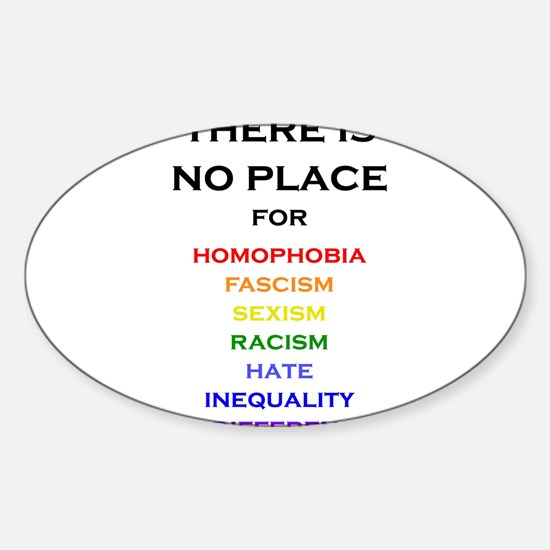 There is no Place Decal