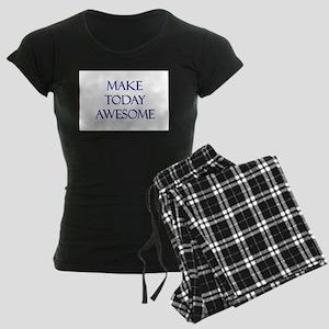 Make Today Awesome Women's Dark Pajamas