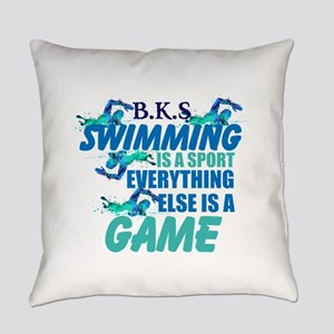 Swimming is a sport: Personalize Everyday Pillow