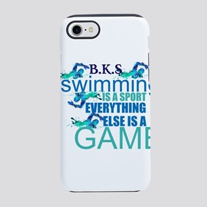 Swimming Is A Sport: Iphone 8/7 Tough Case