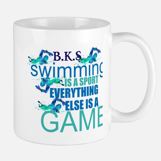 Swimming is a sport: Personalize Mugs