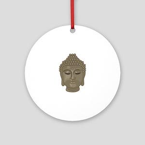 Buddha Head Round Ornament
