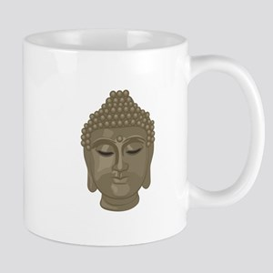Buddha Head Mugs