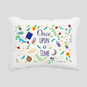 Once Upon a Time Rectangular Canvas Pillow