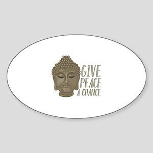 Peace A Chance Sticker