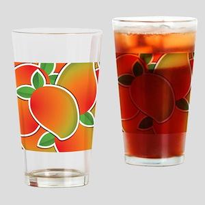 Funky mango Drinking Glass