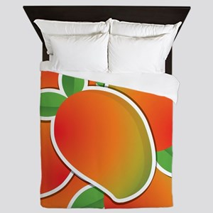 Funky mango Queen Duvet