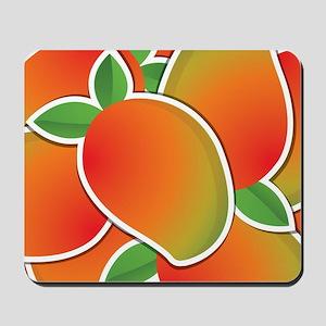 Funky mango Mousepad