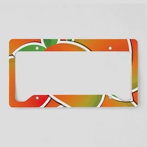Funky mango License Plate Holder