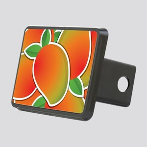 Funky mango Rectangular Hitch Cover