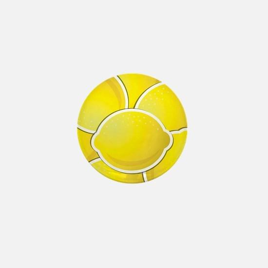 Funky lemons Mini Button