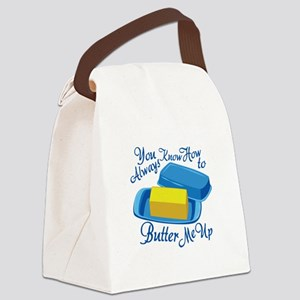 Butter Me Up Canvas Lunch Bag