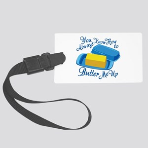 Butter Me Up Luggage Tag