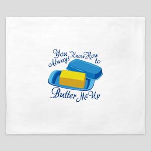 Butter Me Up King Duvet