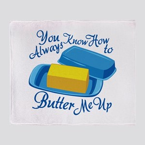 Butter Me Up Throw Blanket