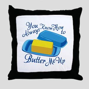 Butter Me Up Throw Pillow