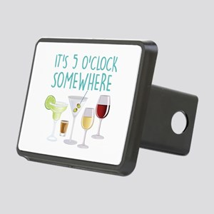 5 O Clock Somewhere Hitch Cover