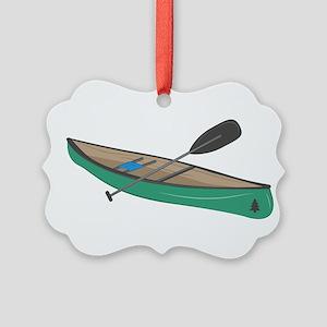 Canoe Ornament
