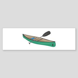 Canoe Bumper Sticker