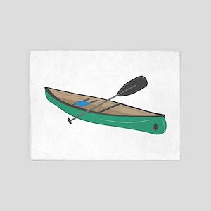 Canoe 5'x7'Area Rug