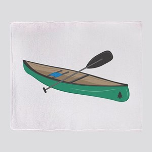 Canoe Throw Blanket