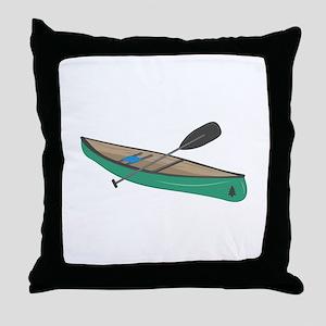 Canoe Throw Pillow