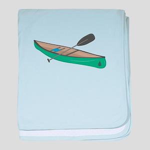 Canoe baby blanket