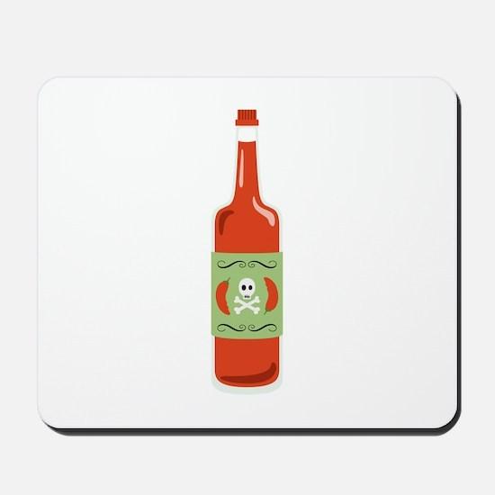 Hot Sauce Bottle Mousepad