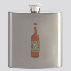 Hot Sauce Bottle Flask