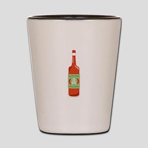 Hot Sauce Bottle Shot Glass
