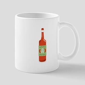 Hot Sauce Bottle Mugs