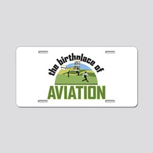 Birthplace of Aviation Aluminum License Plate